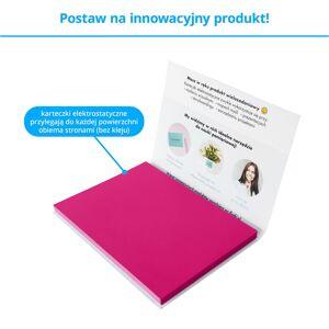 FISZKI Przyczepki - 100 Różowych Karteczek Elektrostatycznych