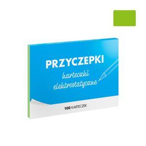 FISZKI Przyczepki - 100 Zielonych Karteczek Elektrostatycznych