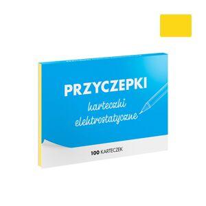 FISZKI Przyczepki - 100 Żółtych Karteczek Elektrostatycznych