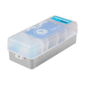 FISZKI Memobox Teddy Grey - Plastikowy - Pudełko Do Szybkiej i Skutecznej Nauki Języka Obcego