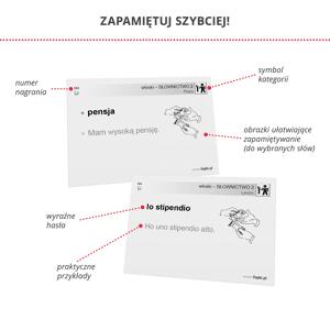 Fiszki Włoski - Kompleksowy Kurs - Skuteczna i Szybka Metoda Nauki Języka Włoskiego