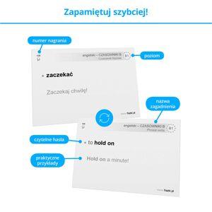 Fiszki Angielski - Czasowniki - Dla Średnio Zaawansowanych - Skuteczna i Szybka Metoda Nauki Języka Angielskiego