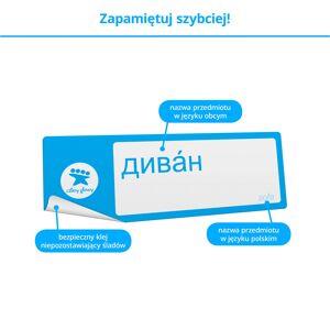 FISZKI Klejki Rosyjski - Skuteczna i Szybka Metoda Nauki Języka Rosyjskiego