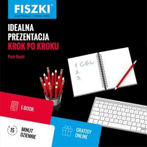 FISZKI szkoleniowe - Idealna prezentacja krok po kroku - E-book - Rozwój osobisty i poszerzanie kompetencji