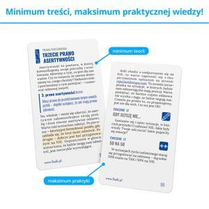 FISZKI szkoleniowe - Jak asertywnie komunikować? - Rozwój osobisty i poszerzanie kompetencji