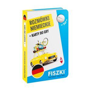 FISZKI Rozmówki Niemieckie i Karty Do Gry 2w1 - Skuteczna i Szybka Metoda Nauki Języka Angielskiego Dla Początkujących