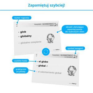 Fiszki Hiszpański - Słownictwo 4 - Skuteczna i Szybka Metoda Nauki Języka Hiszpańskiego