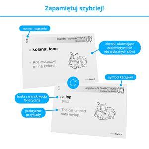 Fiszki Angielski - Słownictwo 5 - Skuteczna i Szybka Metoda Nauki Języka Angielskiego