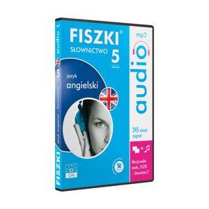 Fiszki Angielski - Audio CD - Słownictwo 5 - Skuteczna i Szybka Metoda Nauki Języka Angielskiego