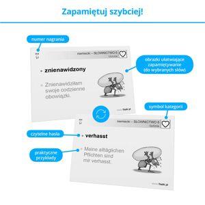 Fiszki Niemiecki - Słownictwo 6 - Skuteczna i Szybka Metoda Nauki Języka Niemieckiego