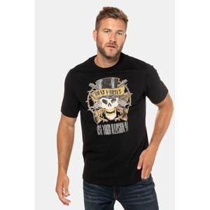 JP1880 Duże rozmiary T-shirt Guns N' Roses, mężczyzna, czarny, rozmiar: XXL, bawełna, JP1880