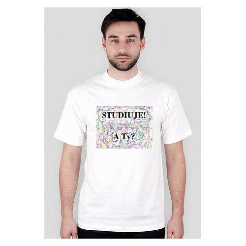 studiuje Koszulka dla studenta
