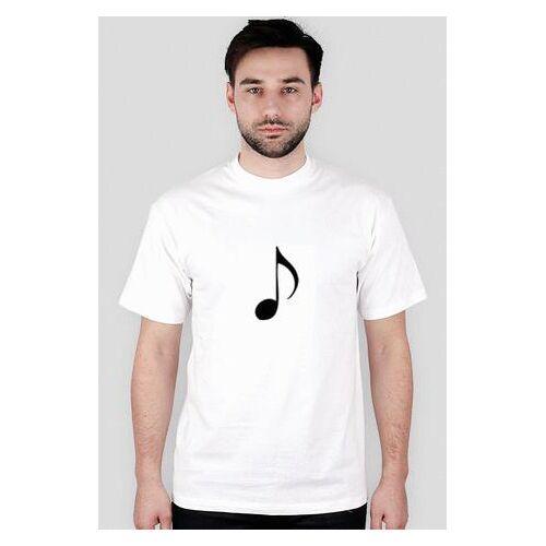studiuje Koszulka dla studenta- muzyka, nutka
