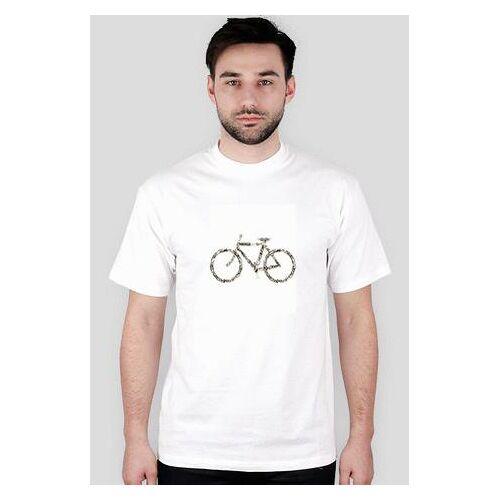 rowerowo Rower - biała męska