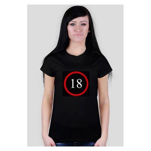 prezent-na-18-dla-dziewczyny Koszulka dla dziewczyny na 18 - wersja black