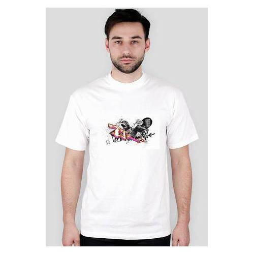 rocket T-shirt skate