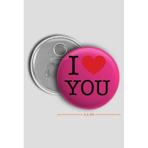 sklepowisko I love you kocham cię otwieracz do puszek