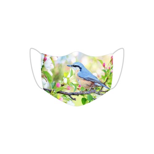MojaMaseczkaOchronna Maska ochronna ptak na drzewie