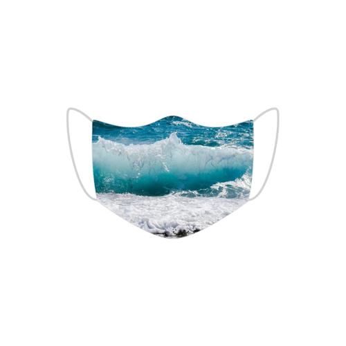MojaMaseczkaOchronna Maska ochronna fala morska