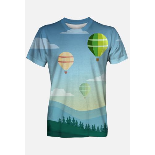 wkolorze Koszulka balony