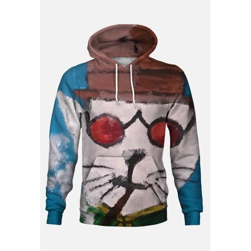 artystyczny Kot bluza