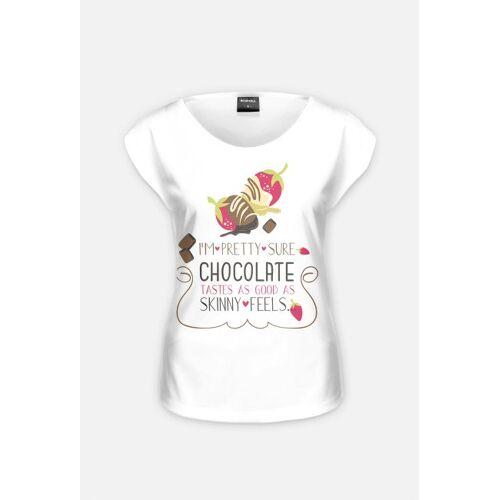 kobiecy Koszulka - czekoladki - odzież tylko dla kobiet, sukienki, tuniki, podkoszulki