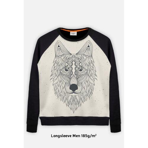 mantis Longsleeve męski wilk piaskowy