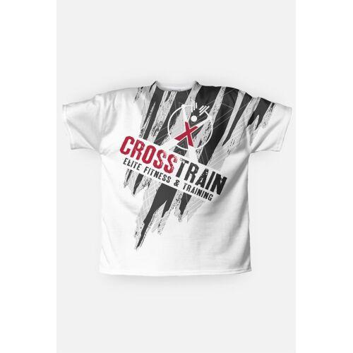 White_Raven_Style Koszulka fullprint crosstrain - white raven style