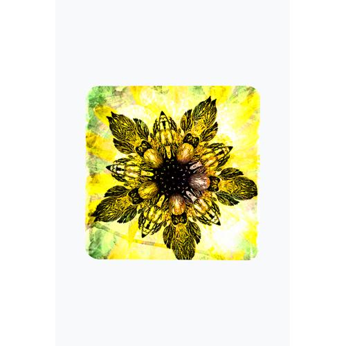 salma Barokowy złoty kwiat magnes