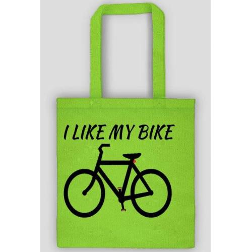 rowerowe I like my bike - torba