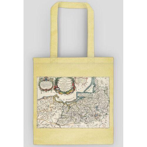 pruskie Torba z mapą prus iv (giacomo cantelli)