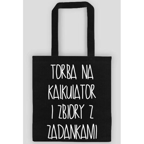 mnmjm Torba czarna - na kalkulator