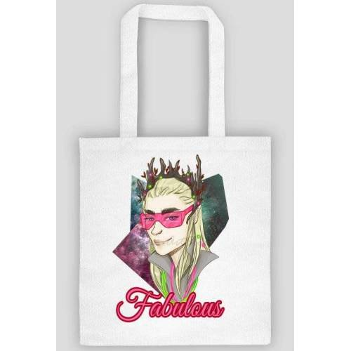 Lunarart Eco bag, torba na zakupy z thranduil