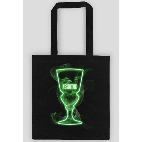 Lunarart Eco bag, torba na zakupy absynt