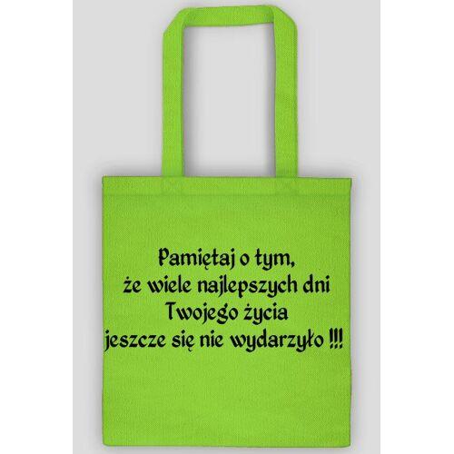 Naustachusmiech Eko torba - pamiętaj o tym