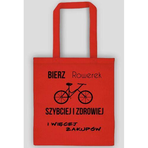 rowerek Torba z rowerem
