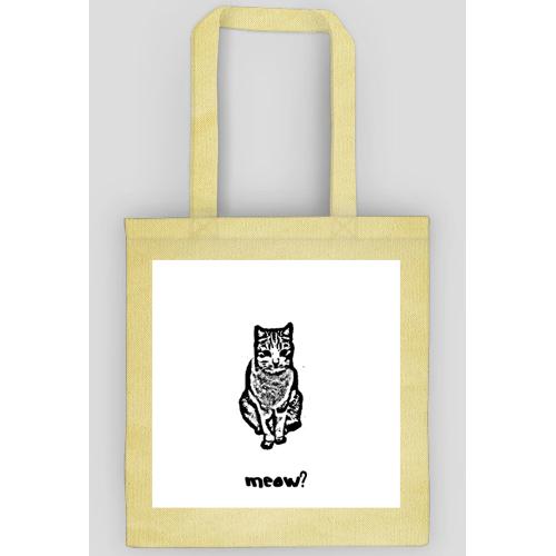 kupiec Eko torba, torba ekologiczna - kot