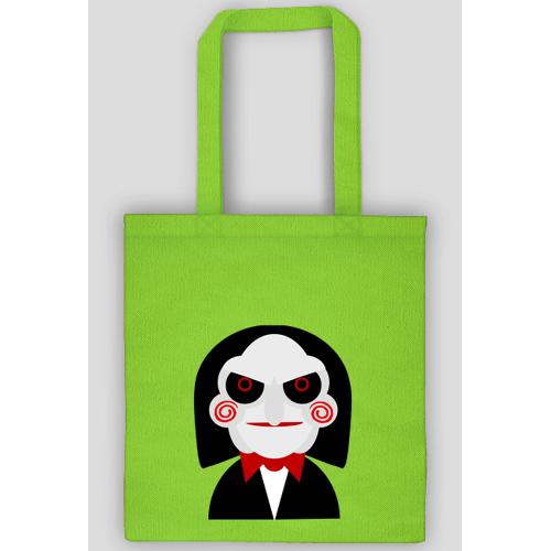 ulala26 Gra postać klaun torba ekologiczna
