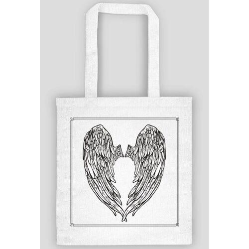 anielskieskrzydlo Torba skrzydło   biała