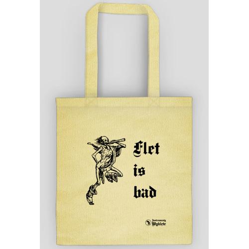 instrumentywyklete Flet is bad - torba