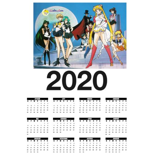 resheku Kalendarz - sailor moon fan