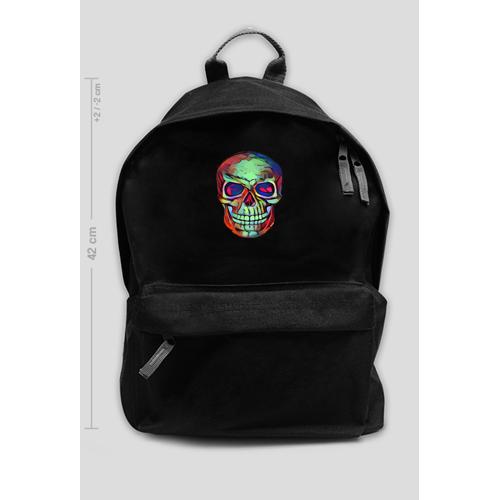 GucioSHOP Plecak szkolny skull