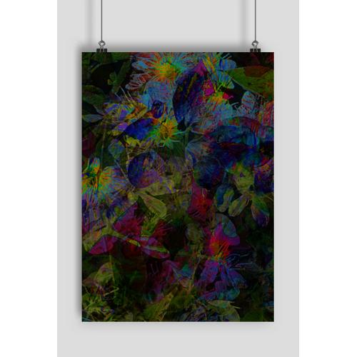 MSplakat Wojna kwiatów plakat