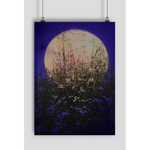 MSplakat Papierowy księżyc 2 plakat