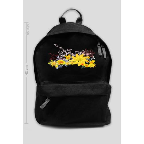 Back-to-school Plecak szkolny kwiaty