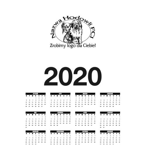 hodowcy Kalendarz a1 pionowy