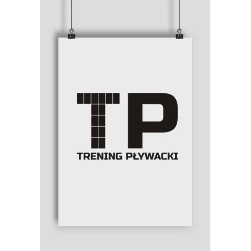 TreningPlywacki Plakat pionowy