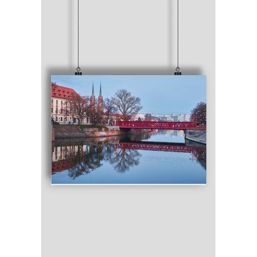 magicznefoto Plakat wrocław most piaskowy