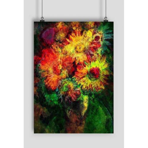 MSplakat Astrokwiaty plakat