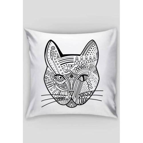 kat-dot Kat pillow